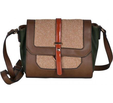 Kabelka David Jones CM 3645-1 Dark camel FC8916
